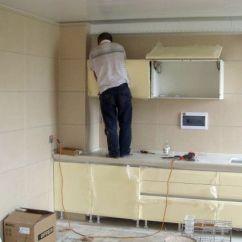 End Kitchen Cabinet Mission Cabinets 家里橱柜什么时候安装最合适 安装的时候这些都需要注意到 知乎 二 厨房吊顶安装结束之后再安装橱柜 因为如果先安装吊柜的话 不利于测量高度 而且可能会有装修材料废物掉下来 影响橱柜效果