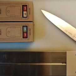 Kitchen Knife Magnet Modern Cabinet Pulls Chroma P18 301不锈钢主厨刀修刃 知乎 Porsche Design 保时捷设计chroma 180毫米主厨刀 日本301不锈钢 因使用不当刀刃卷刃 有小崩口 第一次打磨因手法欠佳 加上被刀主人用刀尖撬过粘在一起的冰糖