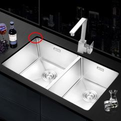 Stainless Steel Undermount Kitchen Sinks Ikea Table And Chairs 厨房水槽做台下盆好吗 知乎 乐唯304不锈钢水槽