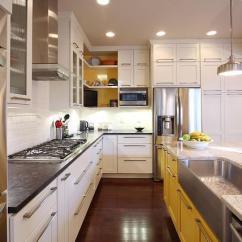 Kitchen To Go Cabinets Concrete Floor 家里厨房比较小 不如这样去装修更实用 知乎 厨房去柜子