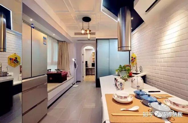 remodel a kitchen aid mixer colors 二手房改造 小客厅变大厨房 知乎 女主人一直想要一个开放式的大厨房 但是之前了解到开放式的厨房比较适合面积大一点的 在买了这套房子之后基本已经放弃了开放式厨房的想法