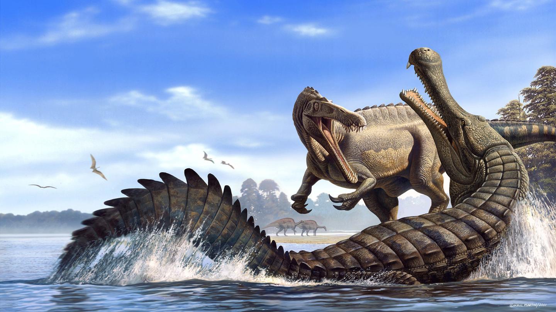 生活在非洲的史前巨鱷能吞恐龍 - 知乎