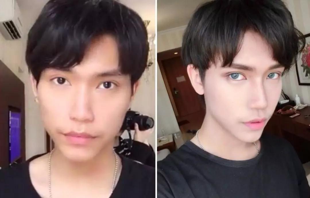 """男生化妝就是""""娘""""嗎?看完這波男生化妝前后對比照,終于知道化妝有多重要了! - 知乎"""