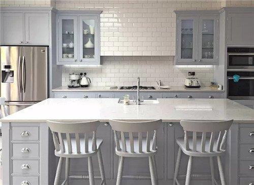 kitchen runner washable and dining room chairs 国外厨房装修99 都选了涂料 为什么中国厨房的王道却是全屋贴瓷砖 知乎 为什么中国厨房的王道却