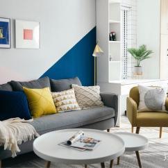 Kitchen Remodeling Silver Spring Md Best Flooring For Kitchens 你家的装修是怎样的 共花费多少 知乎 这是客厅 很喜欢百叶窗的光影 所以尽管不好打扫 还是选择了百叶帘 客厅颜色是整个家最活泼的 因为家里大面积黑白原木色 想多点颜色 不至于太单调