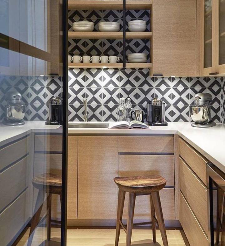 kitchen runner washable brick backsplash in 怎样的厨房设计是最好的 知乎 厨房设计之可持续发展