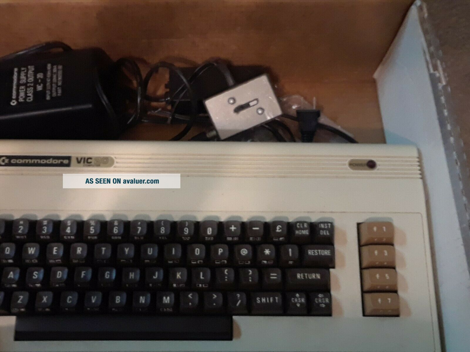 Vintage Rare Commodore VIC 20 Personal Computer MATCHING SERIAL
