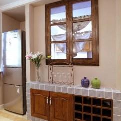 Kitchen Deco Stainless Steel Backsplash 厨房装饰橱柜 58同城装修效果图大全 厨房砖砌橱柜装饰效果图