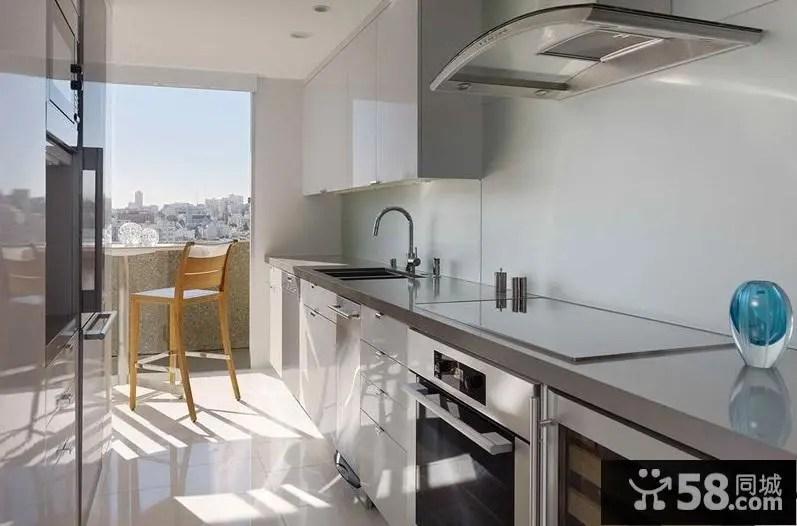 kitchen deco spice rack 厨房装饰设计效果图 58同城装修效果图大全 现代室内厨房装饰设计效果图
