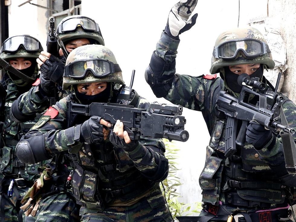 中共反恐全線布局 上海特戰隊罕見實戰_中國-多維新聞網