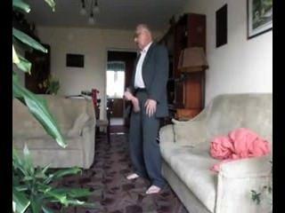 black grandpa nude