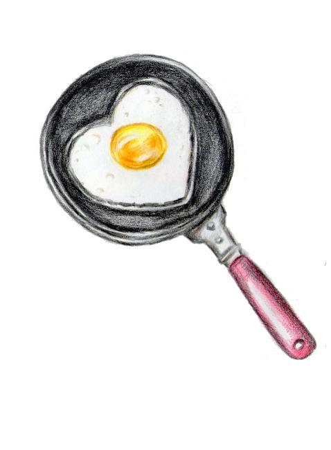 kitchen pan set undermount sink 彩铅迷你爱心煎蛋锅模板下载(图片编号:10912642)_其它_其他_我图网weili.ooopic.com