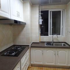Kitchen On A Budget Brass Faucet 农村厨房设计效果图片-土巴兔装修效果图