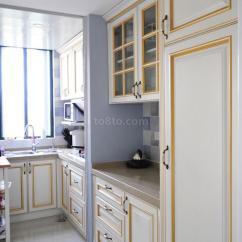 Kitchen On A Budget Appliance Parts 家装小平米厨房装修效果图_土巴兔装修效果图