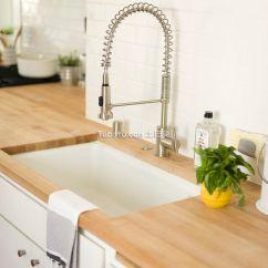Black Sink Kitchen Flooring Types 北欧风格厨房水槽图片_土巴兔装修效果图