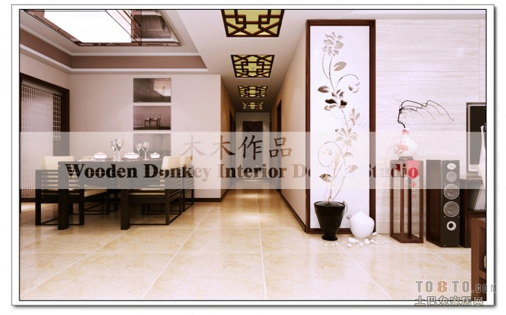 kitchen ceiling fans pendant lighting fixtures 厨房吊扇灯设计 土巴兔装修效果图
