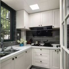 Blanco Kitchen Sink White Lacquer Cabinets 为什么l型厨房如此受欢迎 知乎 L型的厨房一般是长方形的 宽度一般在1 4米到1 6米 布局主要是水槽和烹饪区的变化 如果厨房有窗户 水槽一般会设置在窗户这个方位的台面上