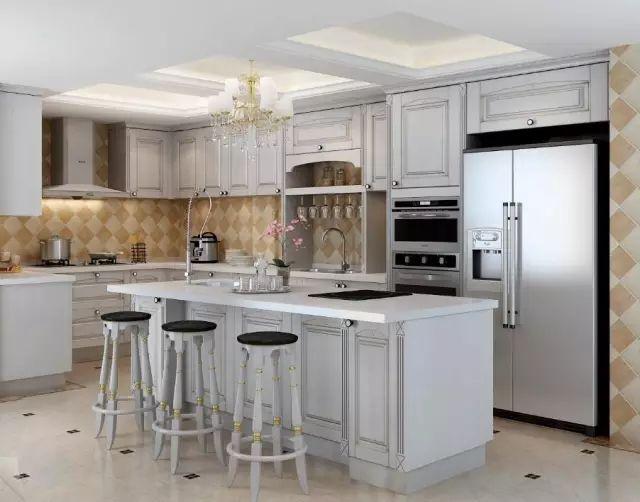 small table for kitchen best floors 小心机的厨房设计 让空间使用率提升20 知乎 错落有致的吊柜设计 空出的部分也能放东西啊 对于简约的一字型厨房 小主也可以买个能够移动的小桌子放厨房 移动的 收纳盒 是个不错的选择哦