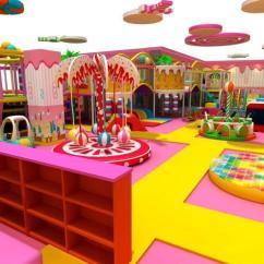 Childrens Play Kitchen Garbage Can Cabinet 室内儿童游乐场的清洁方式 知乎