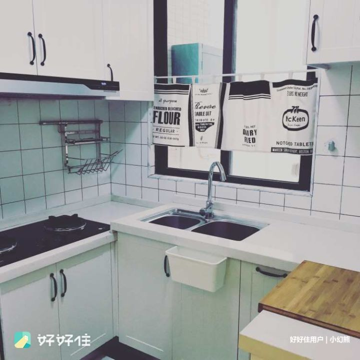 kitchen runner washable granite countertops 厨房设计省不省力 就差这8cm 知乎 屋主说设计厨房时 根据使用区域不同坚持做成高矮不同的台面 使用更加舒适