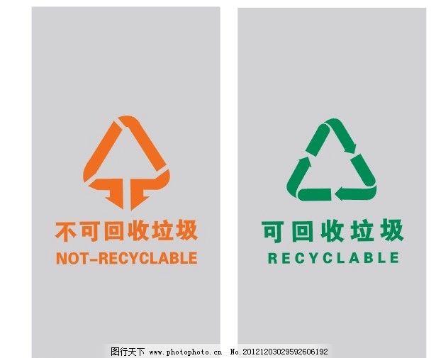 誰有不可回收垃圾桶的標志-
