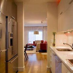 Kitchen Island With Range Cream Colored Painted Cabinets 最受欢迎的厨房布局 知乎 厨房或走廊 厨房两边都有两条直线跑道 通常情况下 水槽在一边 范围在另一边 这种设计的缺点是交通流量 一个简单的单壁设计可以变成一个厨房的形状 加上一个 岛