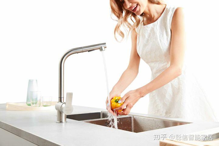 triple kitchen sink aid pasta roller 聪信洗涤系统 让厨房空间更 净 一步 知乎 同时 水龙头内置起泡器 阀芯 铜芯三层过滤 避免二次污染水源 本体以sus304不锈钢一体拉伸而成 防锈不纳垢 洁净无暇