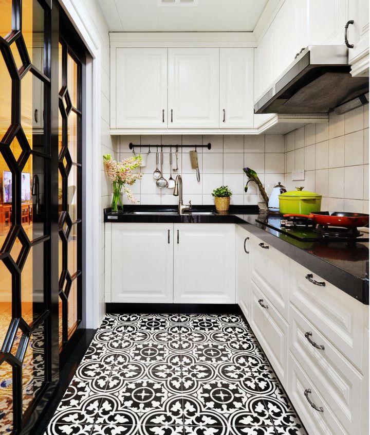 tile kitchen floor exhaust hood 什么 瓷砖太丑 看看这些年轻设计师是怎么把瓷砖铺出高颜值的 知乎 通常地板瓷砖交界的接缝是最常用的是压条 用于遮盖两个同一水平高度的地板与地板