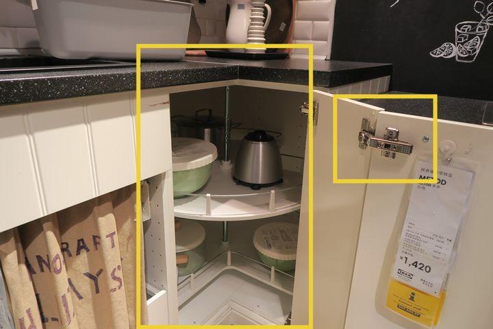 ikea kitchen counter tiles 宜家厨房样板间里的10个套路 装修手册 知乎 橱柜转角不好用 这是共同的痛 厨房五金件虽然贵 想想房价那么高 大钱都花了 为了用得舒畅这个位置的钱没必要省