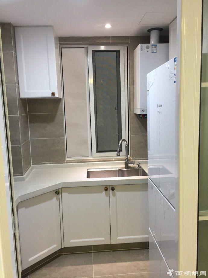 kitchen cabinets okc hansgrohe faucets 验收施工柜子木工橱柜图纸 www thetupian com 厨房做了江水平的特色砖砌橱柜 成品图是不是一点