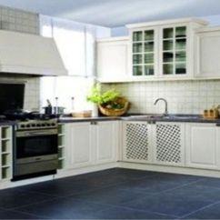 Kitchen Floor Tile Ikea Table Set 装修课堂 厨房地砖的搭配推荐 知乎 而且深色地砖可以让厨房中的水渍 油污等变浅 肉眼看不怎么能识别出来的 还更有助于房屋主人对厨房地砖的清洁 减轻了不少家务的负担 使厨房在没打扫的情况下也不会