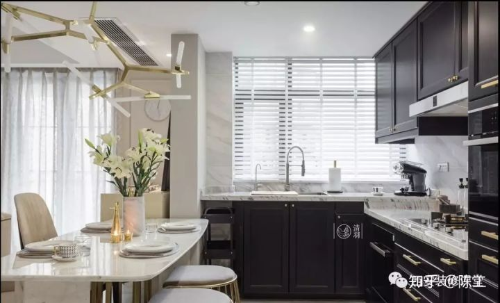 kitchen windows water resistant laminate flooring 厨房需要窗帘吗 怎么做 知乎 开放式厨房 厨房窗户对面离邻居很近 可以采用百叶窗帘遮挡 同时又保证采光