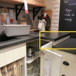 Ikea Kitchen Countertops Flush Mount Light 宜家厨房样板间里的10个套路 装修手册 知乎 大多数厨房台面只有一个高度 在使用中会发现 准备食材和烹饪食材 总有一半工作让手臂很受累 而这个宜家厨房 烹饪区略低 是考虑放了锅之后 操作时也是舒适