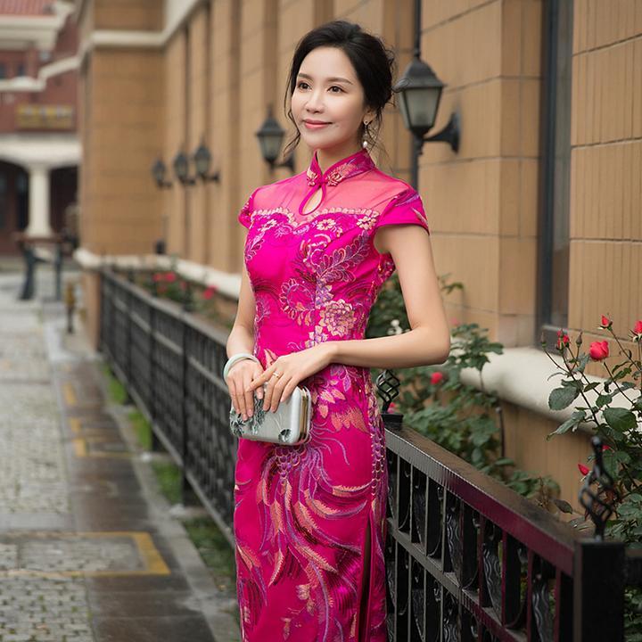 這六個關于旗袍走秀的技巧。你一定要看! - 知乎