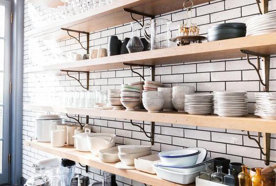 kitchen pots and pans hutch furniture 看看强迫症怎么收拾厨房里的锅碗瓢盆 知乎