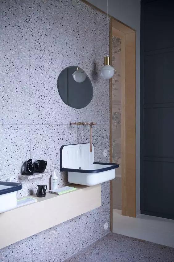 kitchen cleaning price of cabinets 别人都用瓷砖,我偏偏想用水磨石,它的色彩瓷砖很难做出来,还不起尘、好清洁 - 知乎