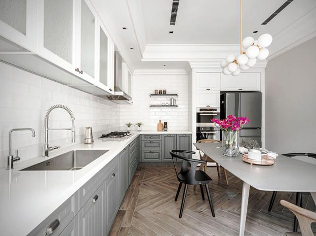 lowes kitchen remodel sink drain 1个厨房的14款装修方案 中看又中用 邻居看到都点赞 知乎 邻居