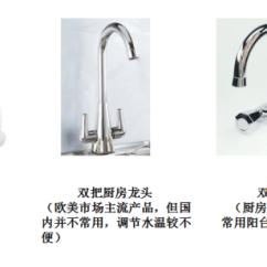 Two Handle Kitchen Faucet Utility Carts For 装修小白如何选用优质家居卫浴龙头五金 功能结构篇 知乎 双把 是指由两个手柄 手轮 控制冷 热水流量及温度