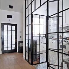 Glass Top Kitchen Table 1950s Formica And Chairs 厨房和餐厅间的分隔适合用大片玻璃吗 知乎 分隔餐厅和厨房 又保留了连接性