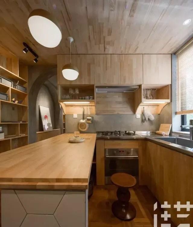 gray kitchen sink modern white gloss cabinets 喵星人都嫌你家厨房乱,还不学学怎么收拾