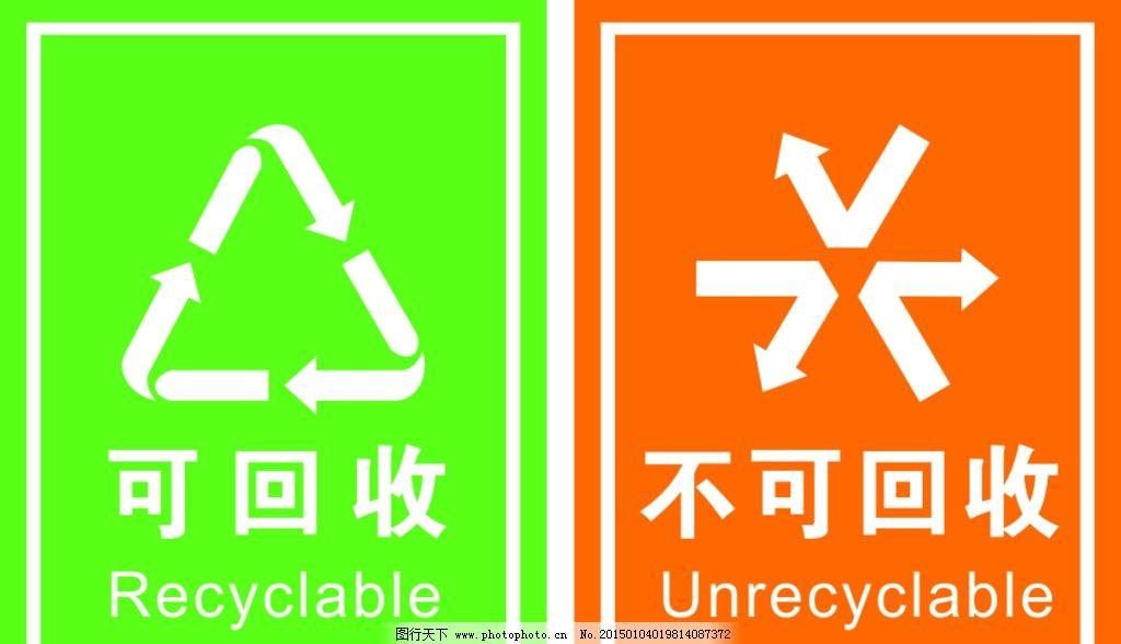 誰有不可回收垃圾標志圖?-