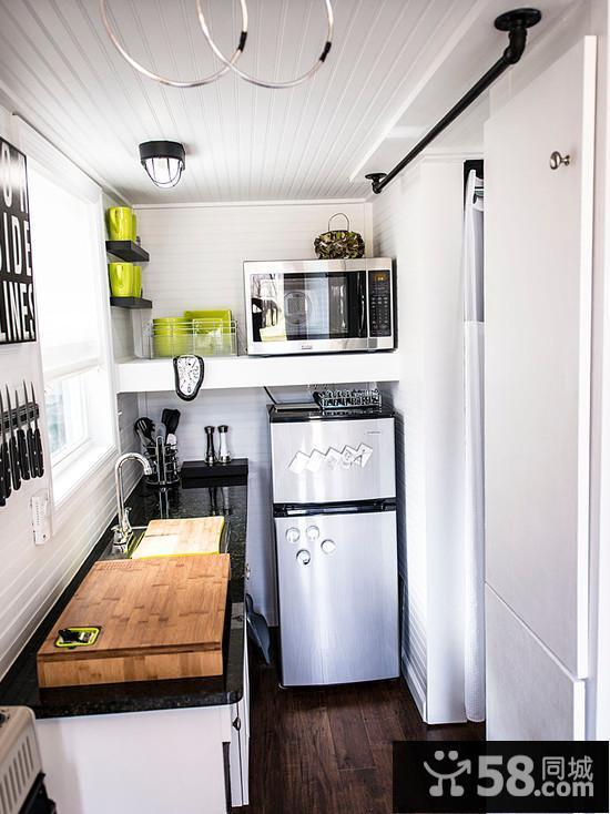kitchens pictures grey shaker kitchen cabinets 小厨房设计 58同城装修效果图大全 现代小厨房设计