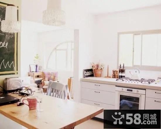 decorating ideas kitchens kitchen home decor 创意厨房装修效果图 创意厨房装饰设计图片 58同城装修效果图大全 小户型厨房创意设计效果图欣赏