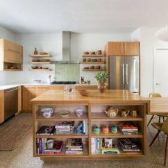 Unique Kitchen Tables Granite Kitchens 上海十佳室内设计师陈明 走在时尚尖端的l型厨房 知乎 此厨房这个材质单一 却展现大自然独特一面的北欧风厨房 白色橡木材质的橱柜与桌子 让居住者与大自然之间的距离又缩短了许多 水磨石的地面和白橡木的竖纹图案形成