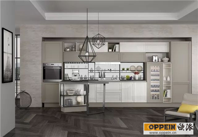 kitchen pantry cabinets freestanding kohler cast iron sink 2018最新款橱柜 你不来了解一下 知乎 门板立体感非常强 整体布局简洁但细节丰富 时下流行的过渡型风格 独立的烘焙高柜解决方案 一柜解决烤 食品收纳 工具收纳