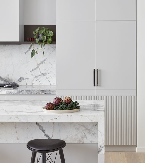 slate kitchen faucet lowes ceiling lights 告别老干部风 这才是现在最流行的厨房设计 知乎