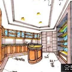 Kitchen Cabinet Stores Overstock Sinks 厨柜商店手繪室内设计设计图图纸 Www Thetupian Com 厨房效果图手绘 同城装修效果图大全jpg X 厨房室内手绘手绘