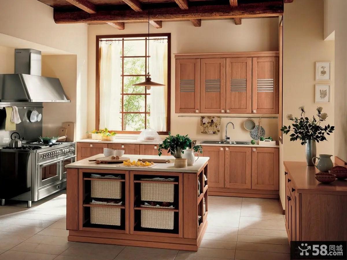 kitchen cabints bar cart 厨房厨柜图片 58同城装修效果图大全 实木厨柜装修效果图片