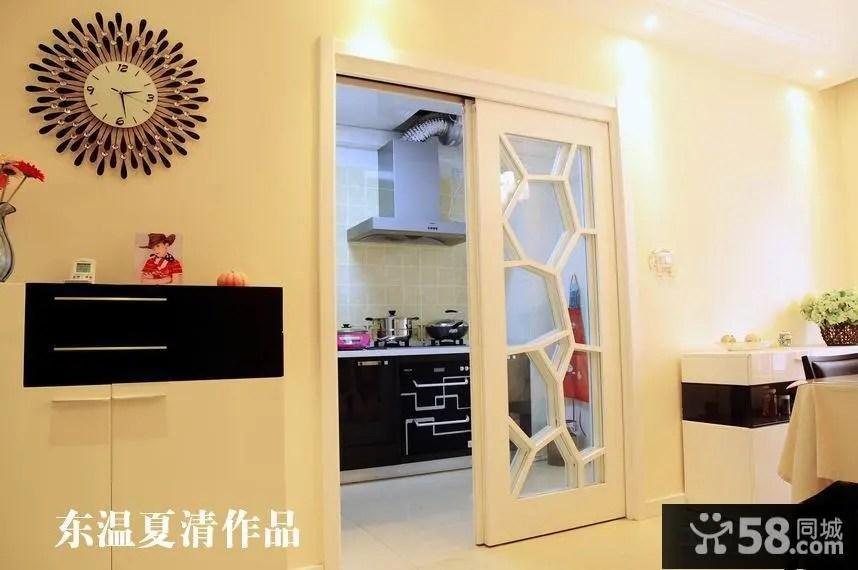 kitchen entry doors pictures for walls 厨房门设计效果图 58同城装修效果图大全