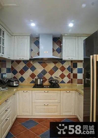 decorating kitchen decoration for 厨房装饰橱柜 58同城装修效果图大全 2015美式装饰厨房橱柜大全
